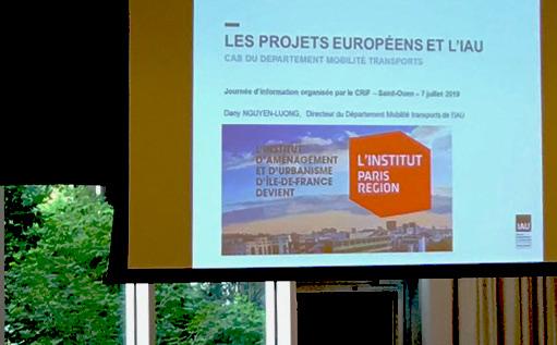 Les projets européens en Île-de-France