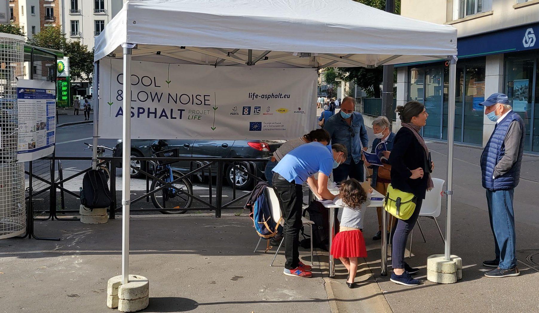 Read more about the article C'est demain! Point info rue de Courcelles